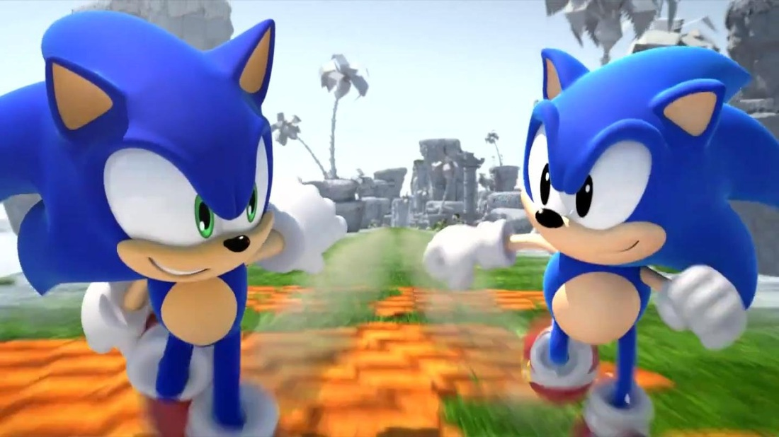 Why Classic Sonic Was A Brighter Blue Than Modern Sonic In Sonic Generations Sonic Boom
